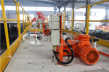 Mud Agitator in Coal Bed Methane system