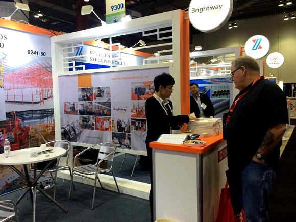 Brightway Booth in OTC 2015