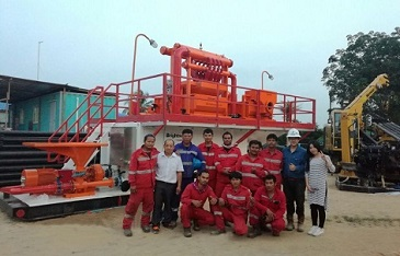 500GPM Mud Recycling System for HDD Construction in Thailand