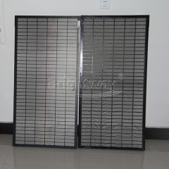 Composite material shaker screen